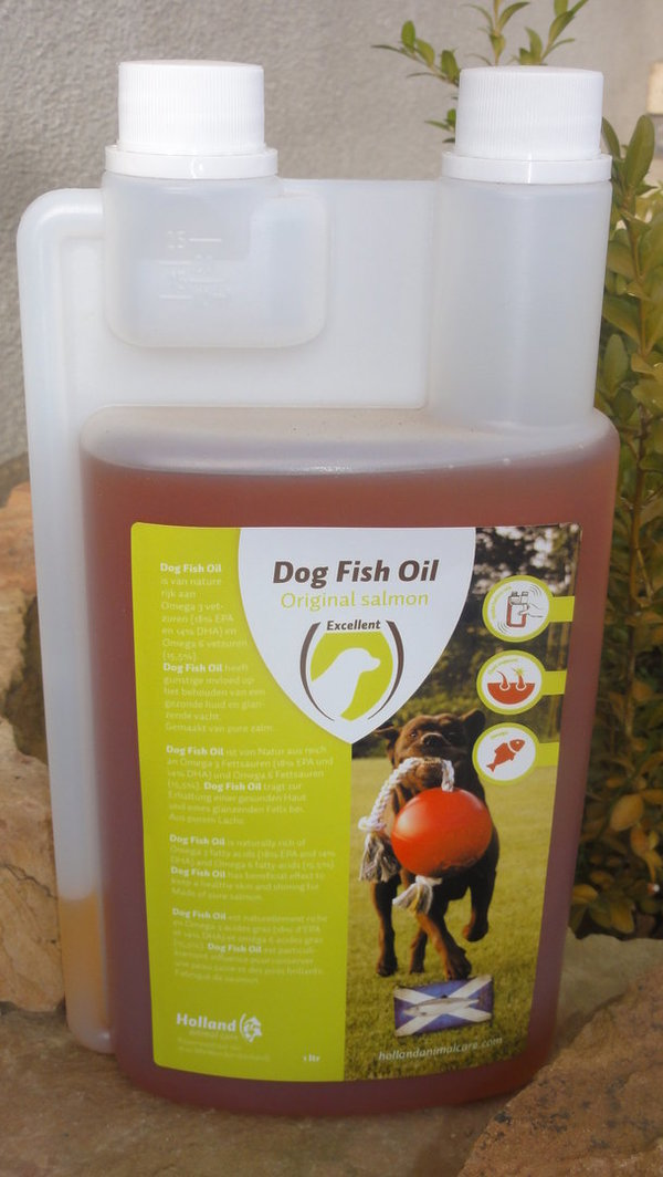 Dog Fish Oil - reines Lachsöl
